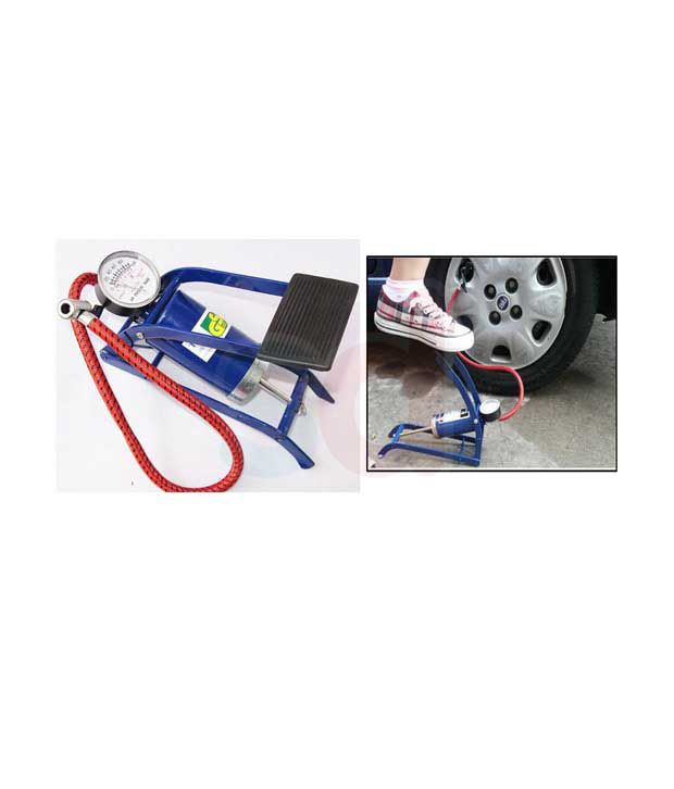 Coido   Single Cylinder Foot Tyre  amp; Ball Inflator Pump Compressor available at SnapDeal for Rs.2800