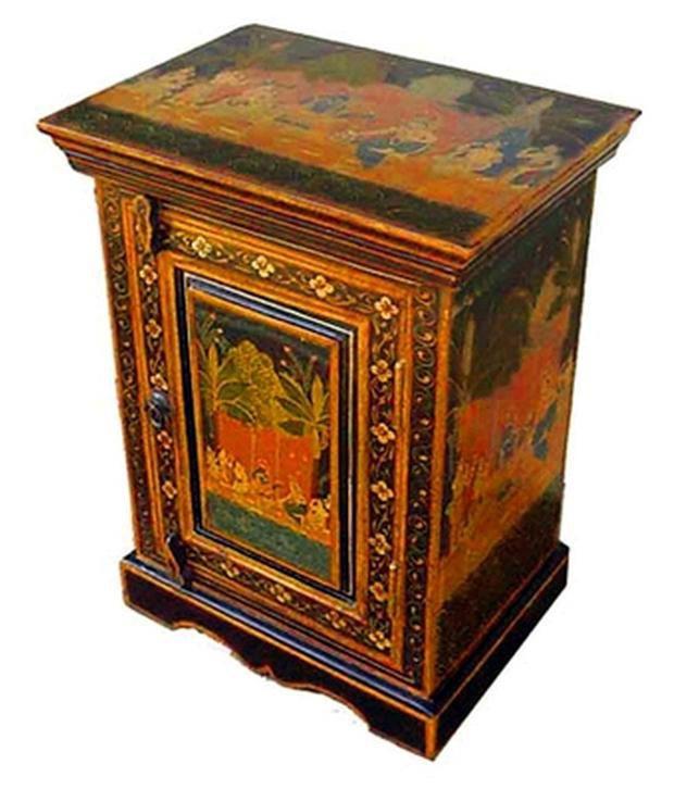 Indian Furniture Sheesham Wood Painted Bedsider Buy Indian Furniture Sheesham Wood Painted