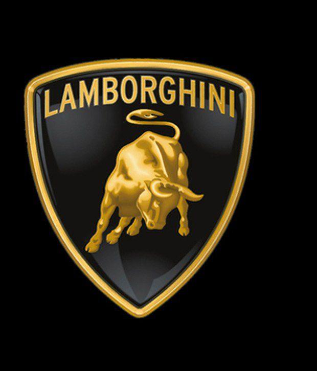 Pbx Lamborghini Car 3d Metal Golden Chrome Badge Car Emblem Decal
