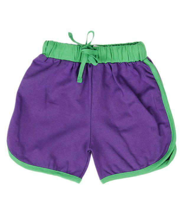 Robinbosky Trendy Purple Shorts For Kids