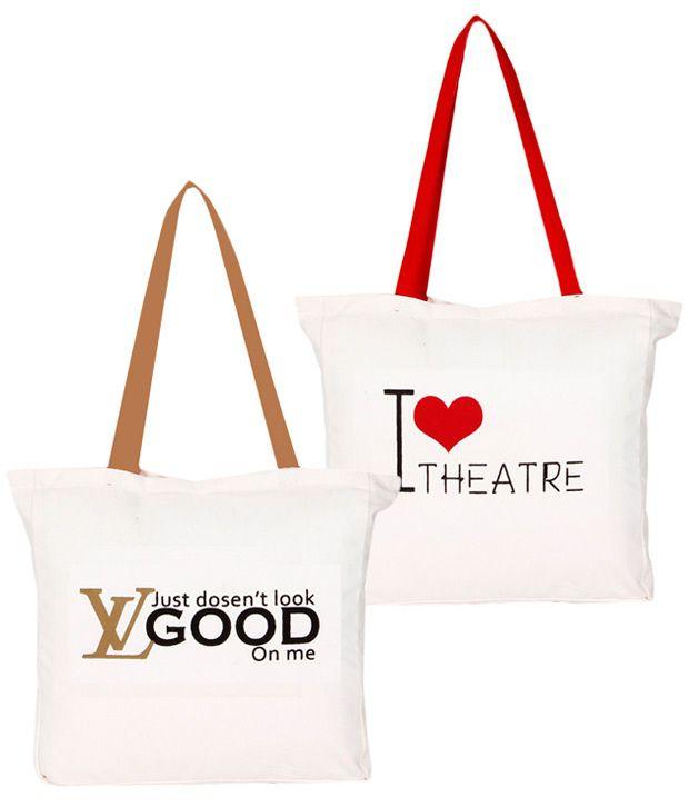 Artsy Ilovetheatre & LV Tote Bags