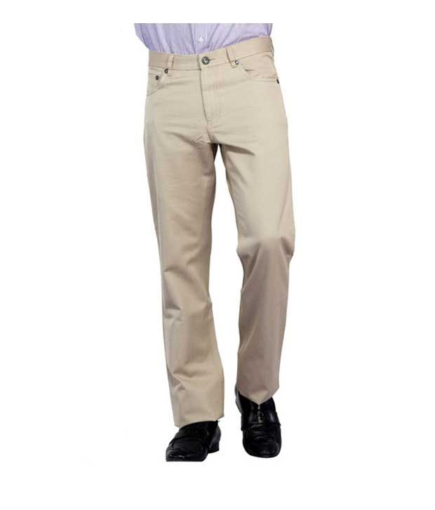 Monte Carlo Cream Men's Trouser