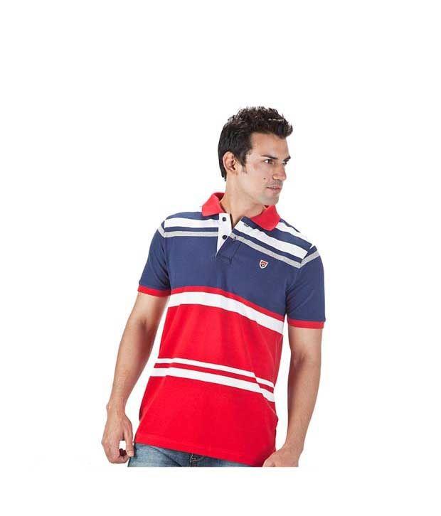 Proline Blue Polo T Shirt