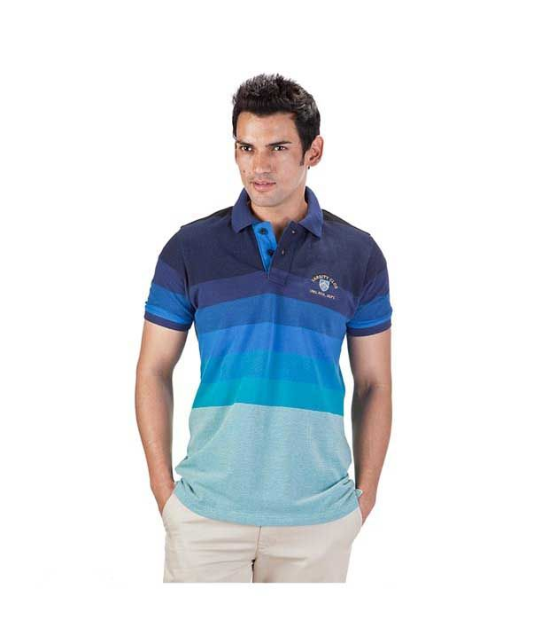 Proline Navy Polo T Shirt