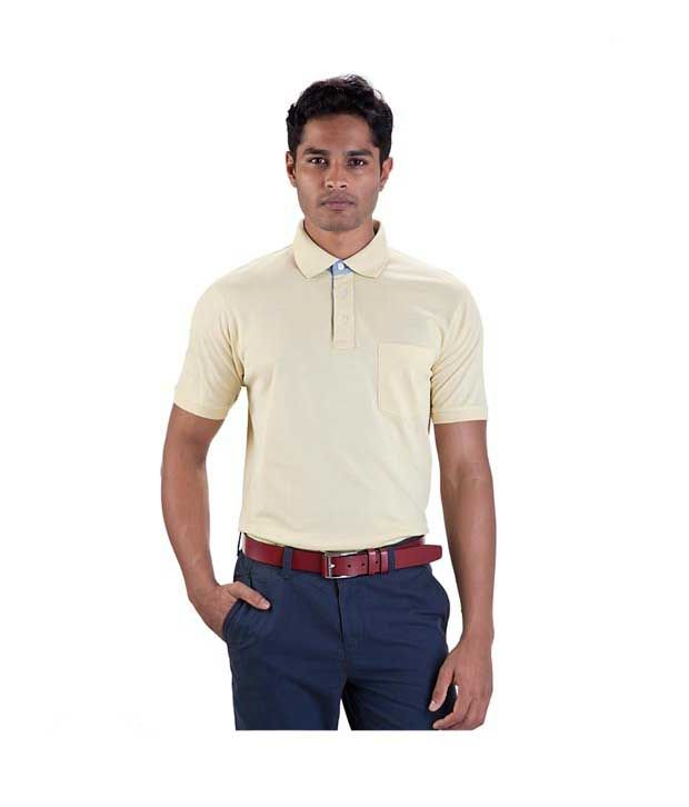 Proline Yellow Polo T Shirt