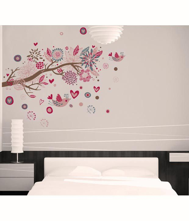 SYGA Printed PVC Vinyl Multicolour Wall Stickers Buy SYGA - Wall decals india