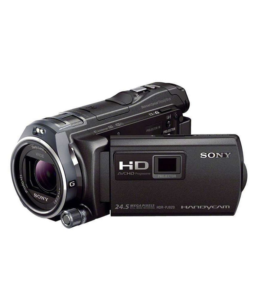 Sony 24mp Pj820 Full Hd Handycam Camcorder Price In India
