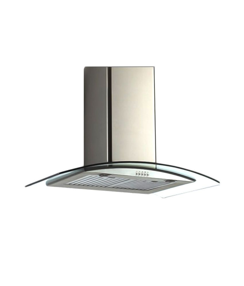 Sunflame 60cm Chimney Iris60SS BF [ Call 1860-330-9999 For