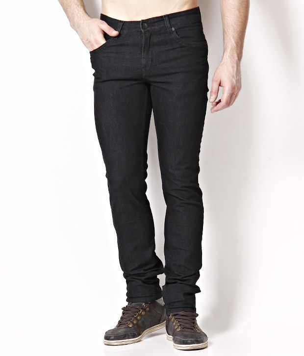 Urban Navy Charming Black Basic Jeans