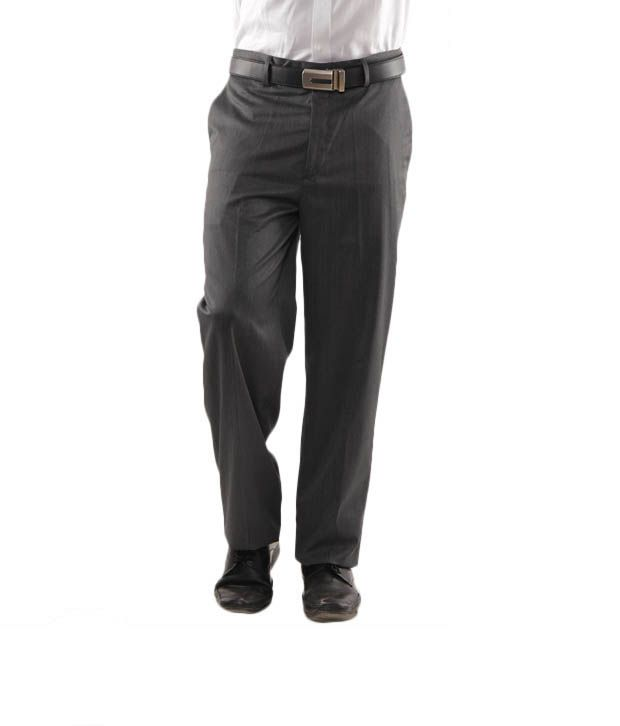 Wills Lifestyle Grey Trouser