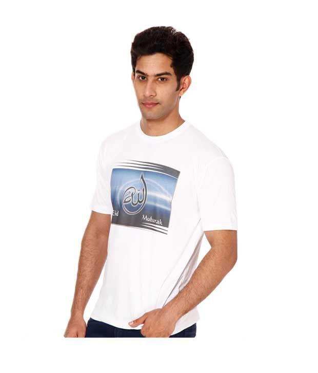Kaizen White Eid Special T Shirt