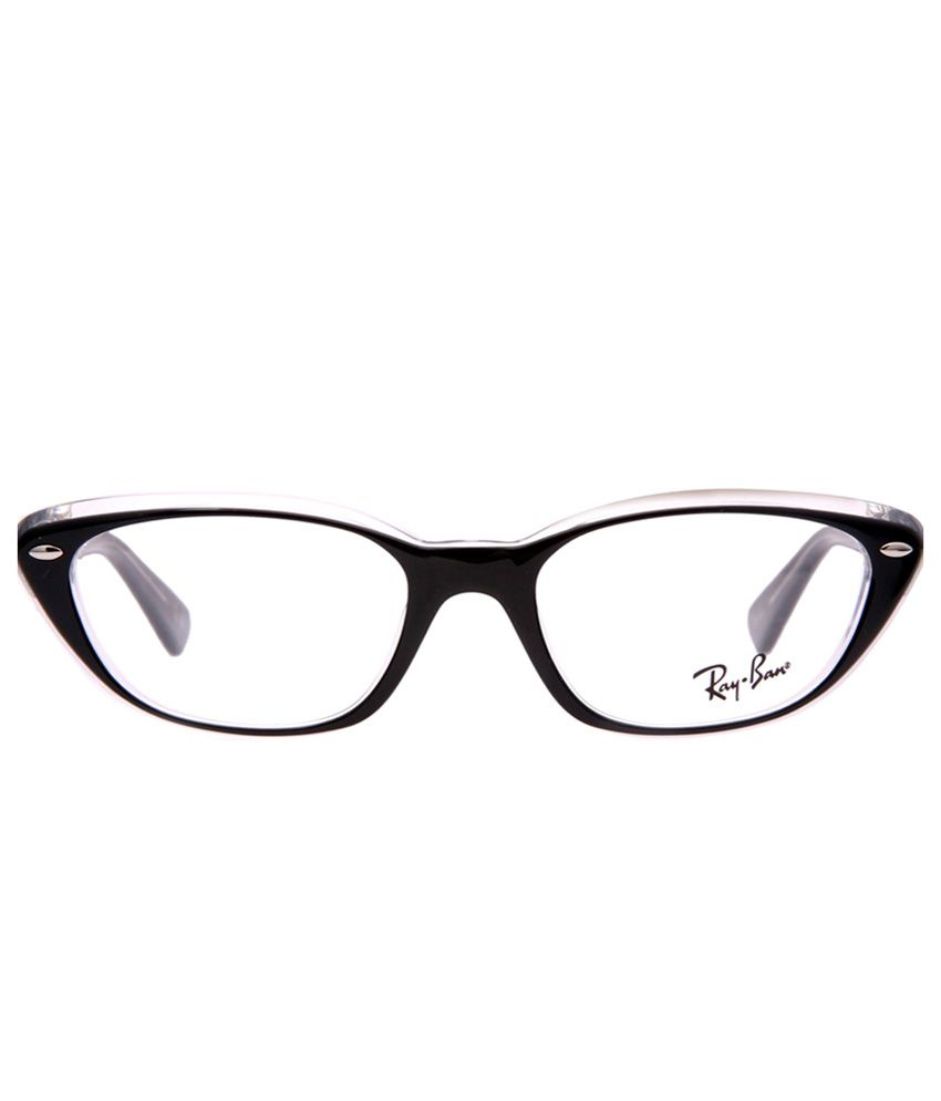 42fec53324d06 Ray-Ban RB-5242-2034-Size 53 Oval Eyeglasses - Buy Ray-Ban RB-5242-2034-Size  53 Oval Eyeglasses Online at Low Price - Snapdeal