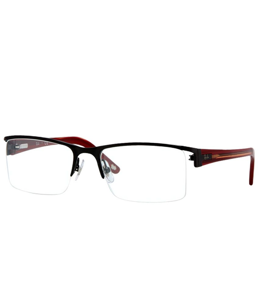91f9e09c48 Ray-Ban RB-6188-2509-Size 52 Rectangle Eyeglasses - Buy Ray-Ban  RB-6188-2509-Size 52 Rectangle Eyeglasses Online at Low Price - Snapdeal