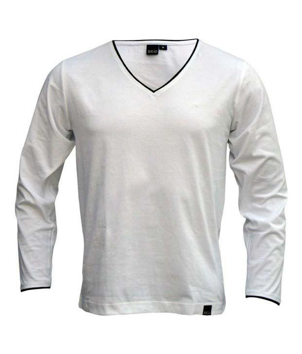 Rigo White T-Shirt
