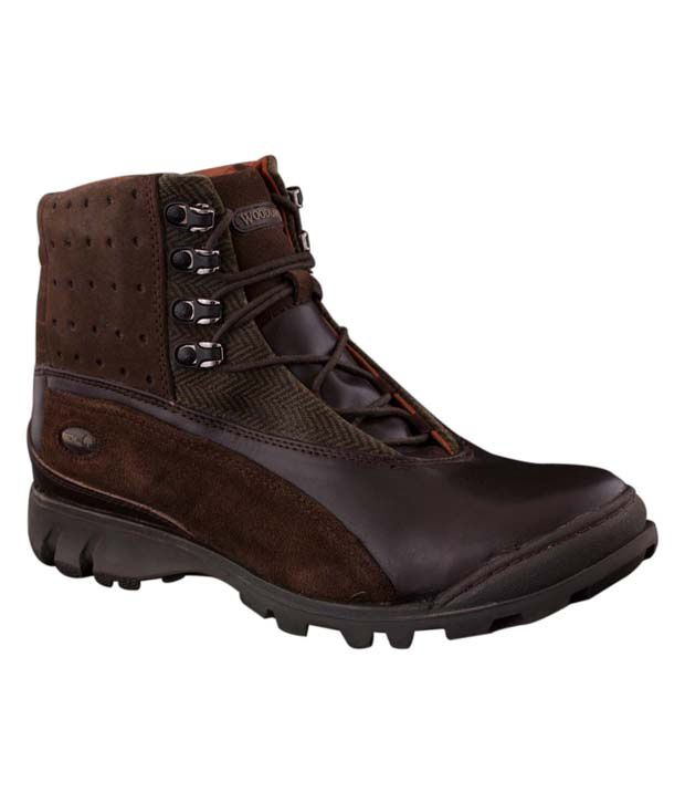 Woodland Mid length Boots Art GB595108BRN