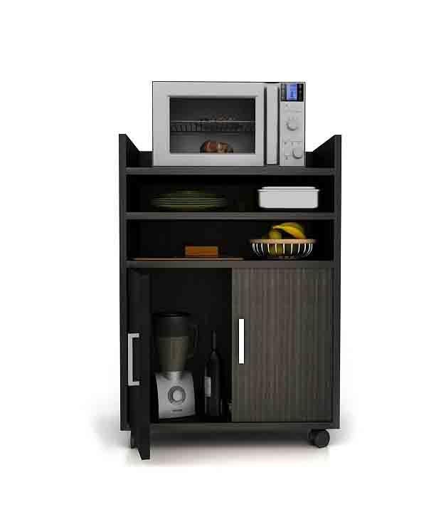 Housefull Kvissle Kitchen Cabinet in Wenge Finish - Buy ...