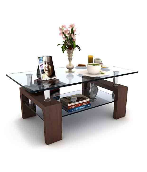 peter centre table with glass top buy peter centre table with rh snapdeal com