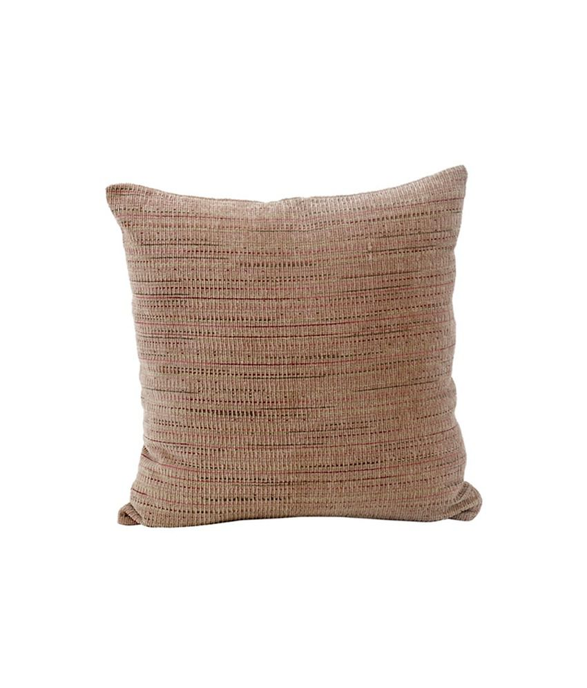 Maspar beige cushion cover 45x45 cm buy online at best for Carrelage 45x45 beige