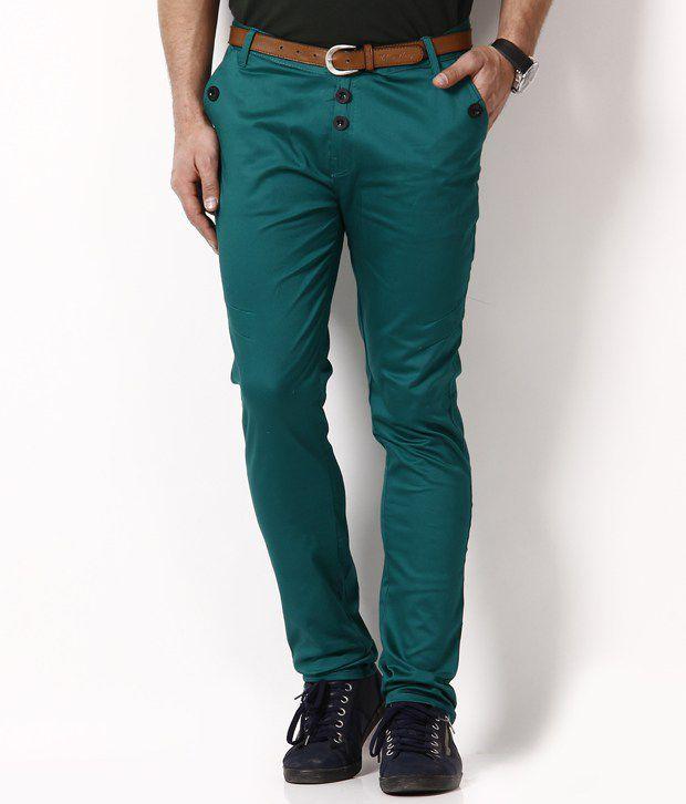 RPB Stylish Green Chinos