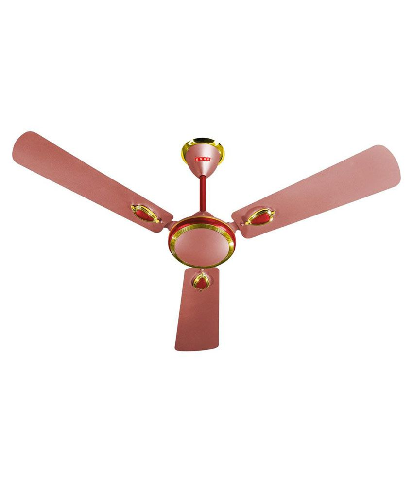 Usha 1200 Mm Ergo Ceiling Fan Pink Price In India Buy