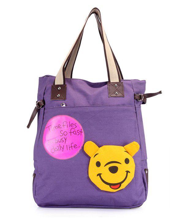 Berry 1007-04 Purple Shoulder Bag