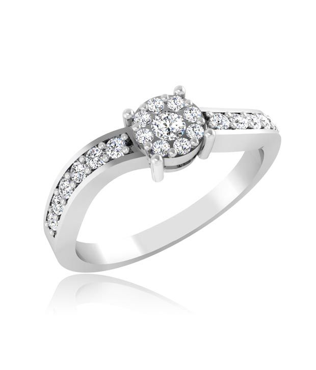Forever Carat Real Diamond Ring In 100% Certified 14kt Gold 204YGW