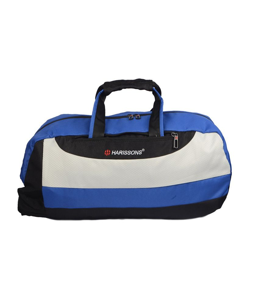 Jock 31L (Black/Royal Blue) gear Gym Bag