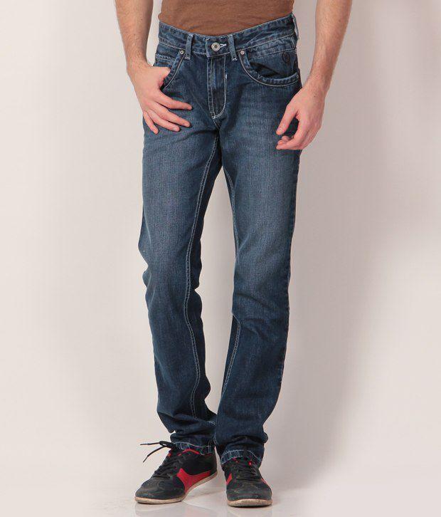 Monte Carlo Blue Regular  Jeans
