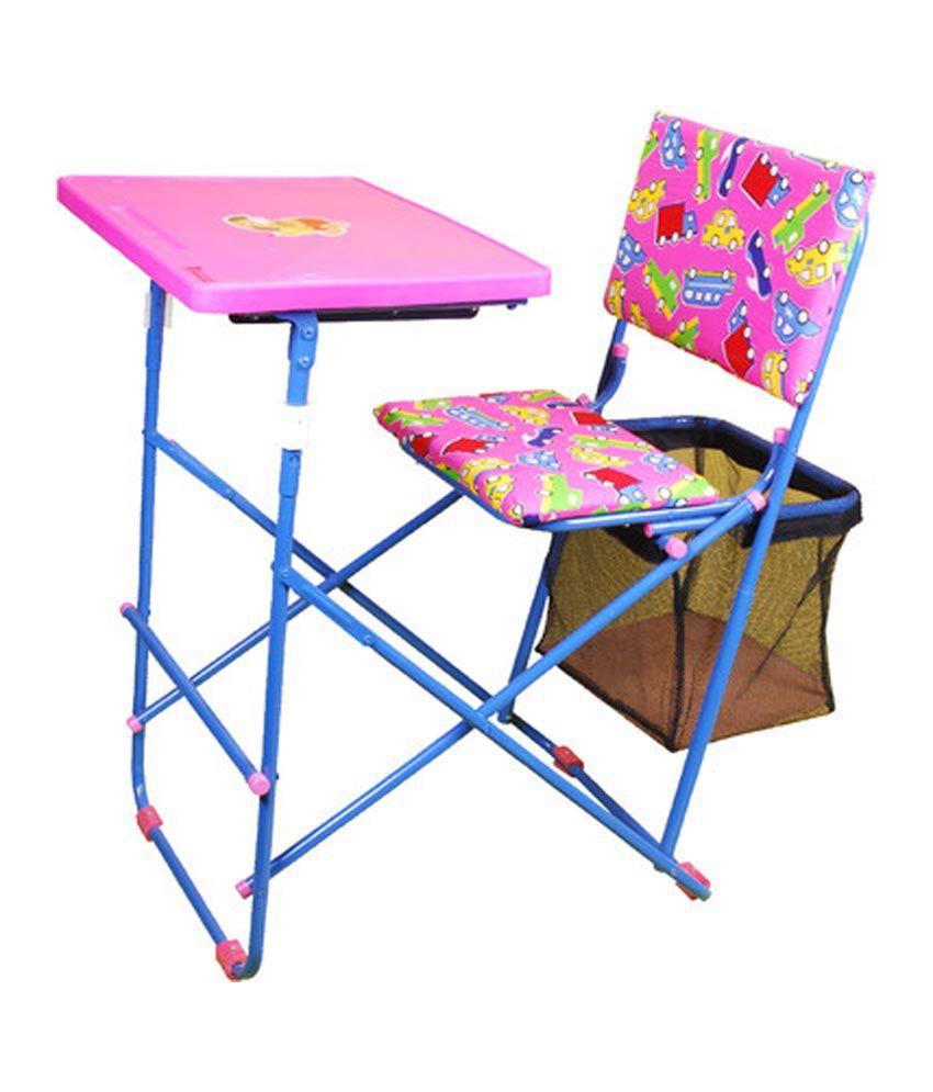Foldable study desk hostgarcia for Room and board kids table