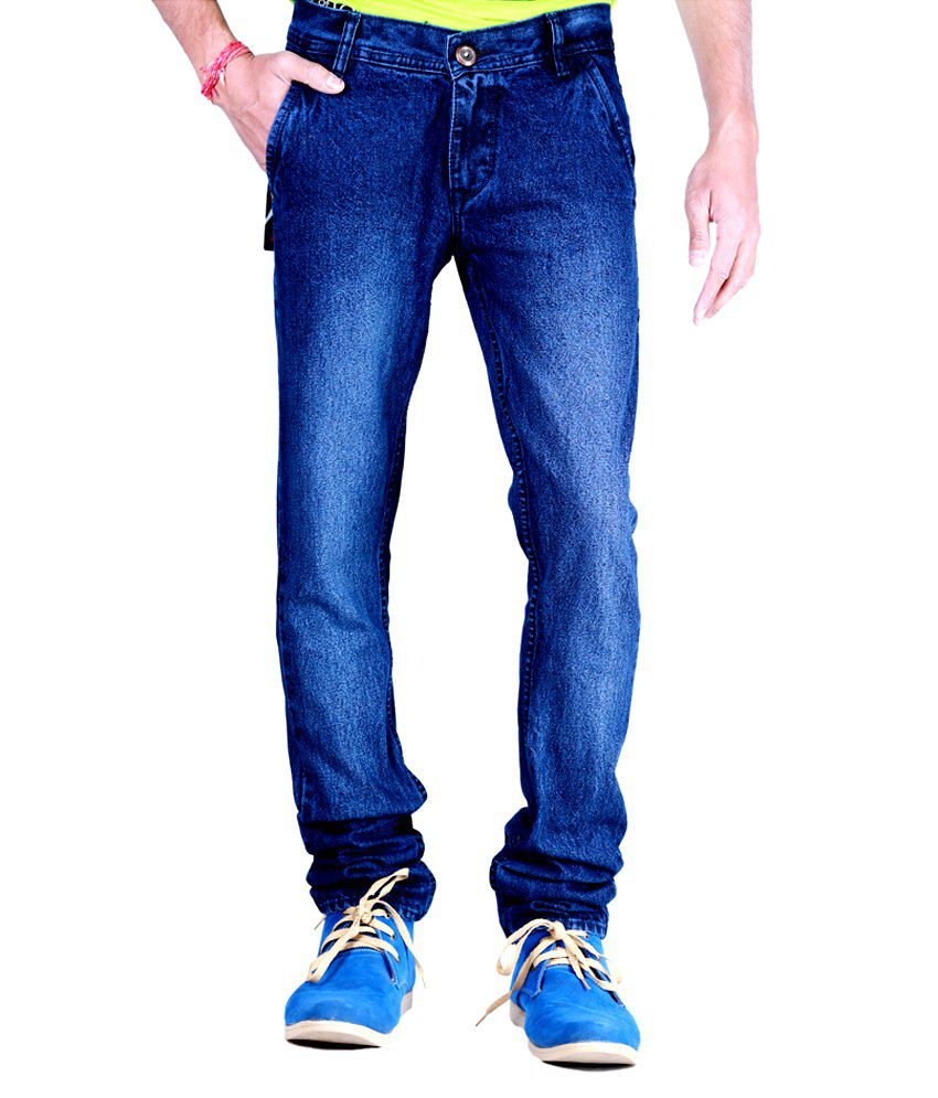 Kaasan Attractive Faded Blue jeans