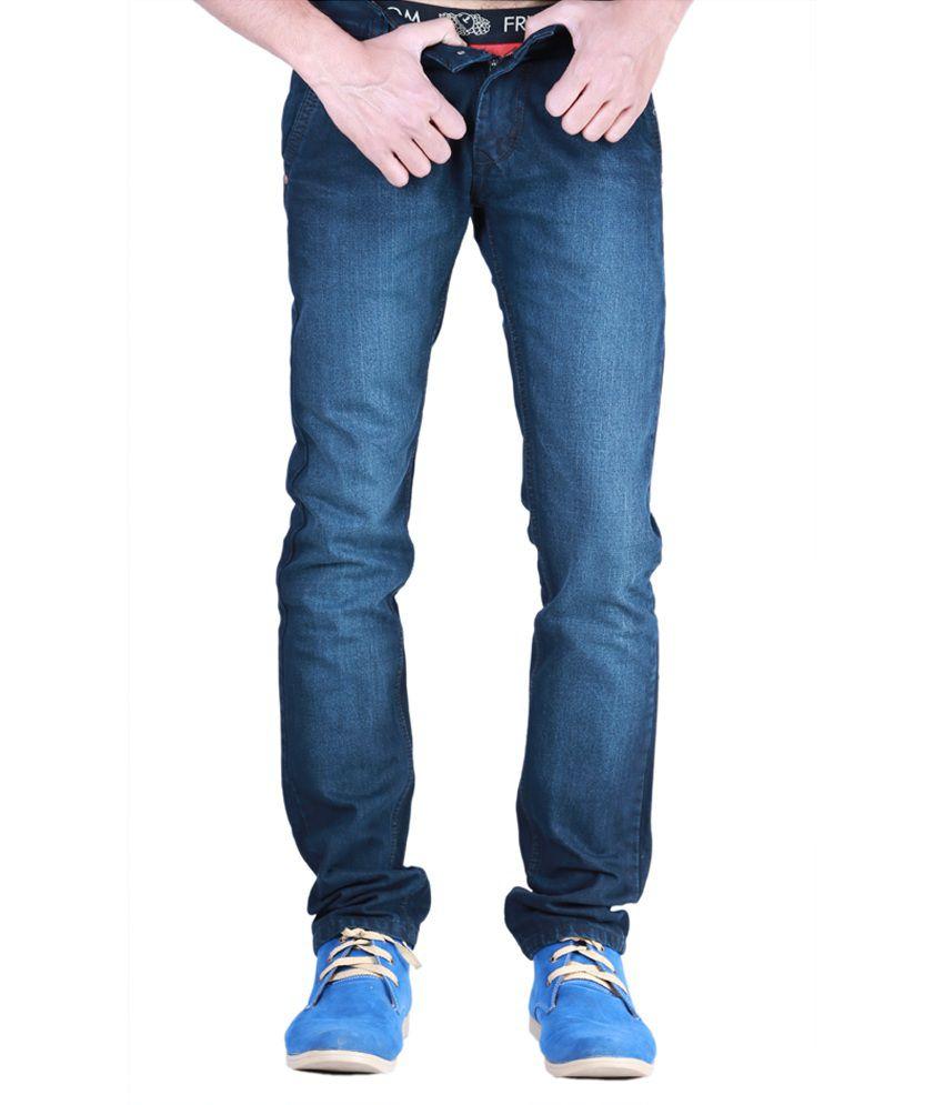 Kaasan Feel Good Faded Blue Jeans