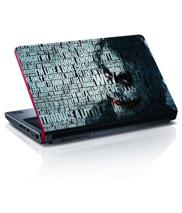 Amore Quotes Joker Batman Laptop Skin