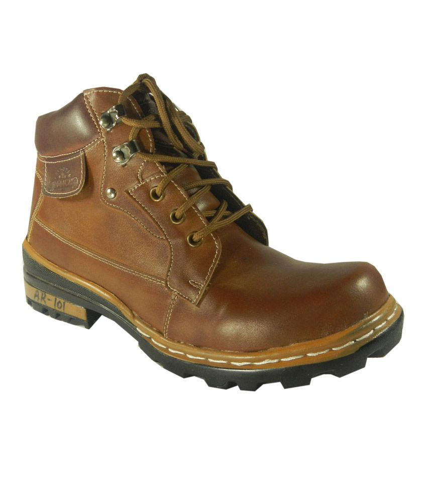 Me Casual Brown Boots