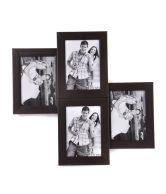 Blacksmith Set of 4 Black Portrait Photo Frame Collage