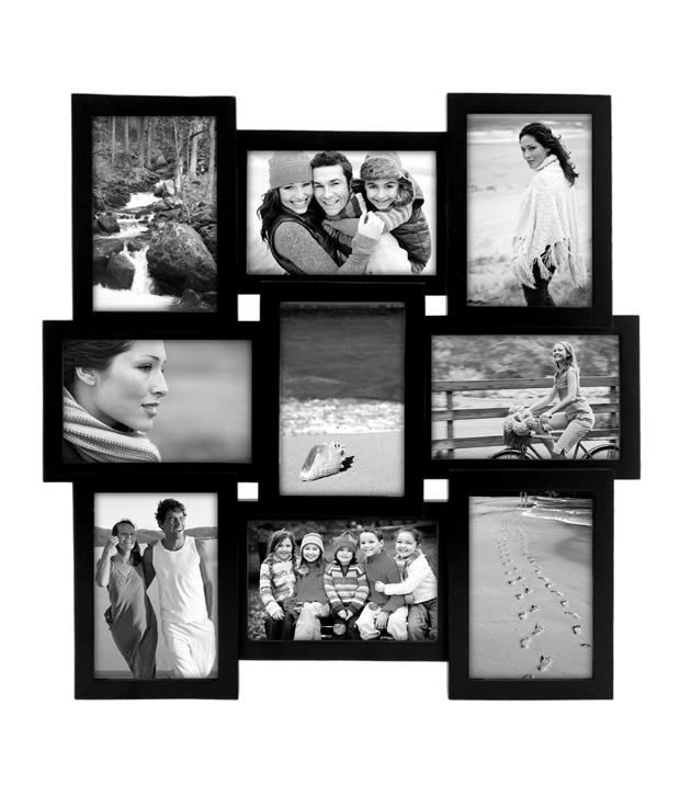 blacksmith black collage photo frame