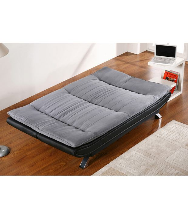 edo 3 seater sofa cum bed buy edo 3 seater sofa cum bed online at best prices in india on snapdeal. Black Bedroom Furniture Sets. Home Design Ideas