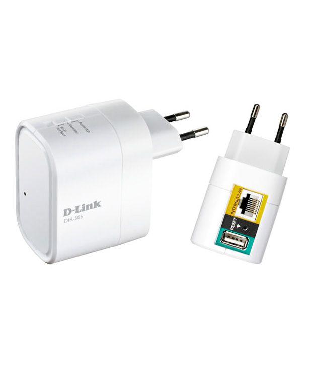 D-Link DIR-505 Portable wireless router