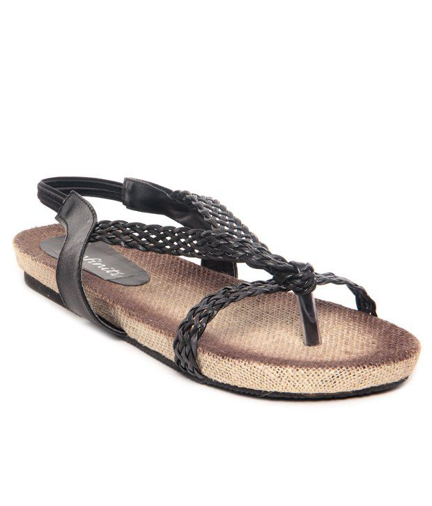 Infiniti Black Sandal