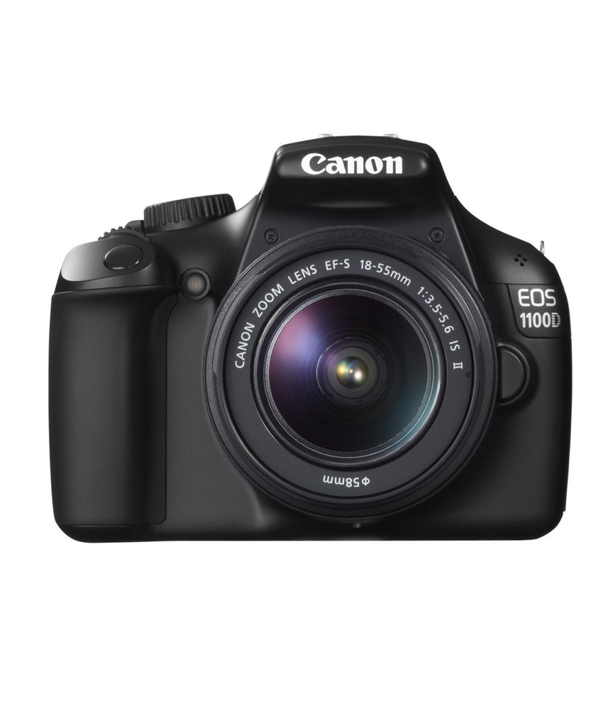 Canon EOS 1100D with 18-55mm ISII Lens: Price, Review, Specs & Buy in India - Snapdeal.com