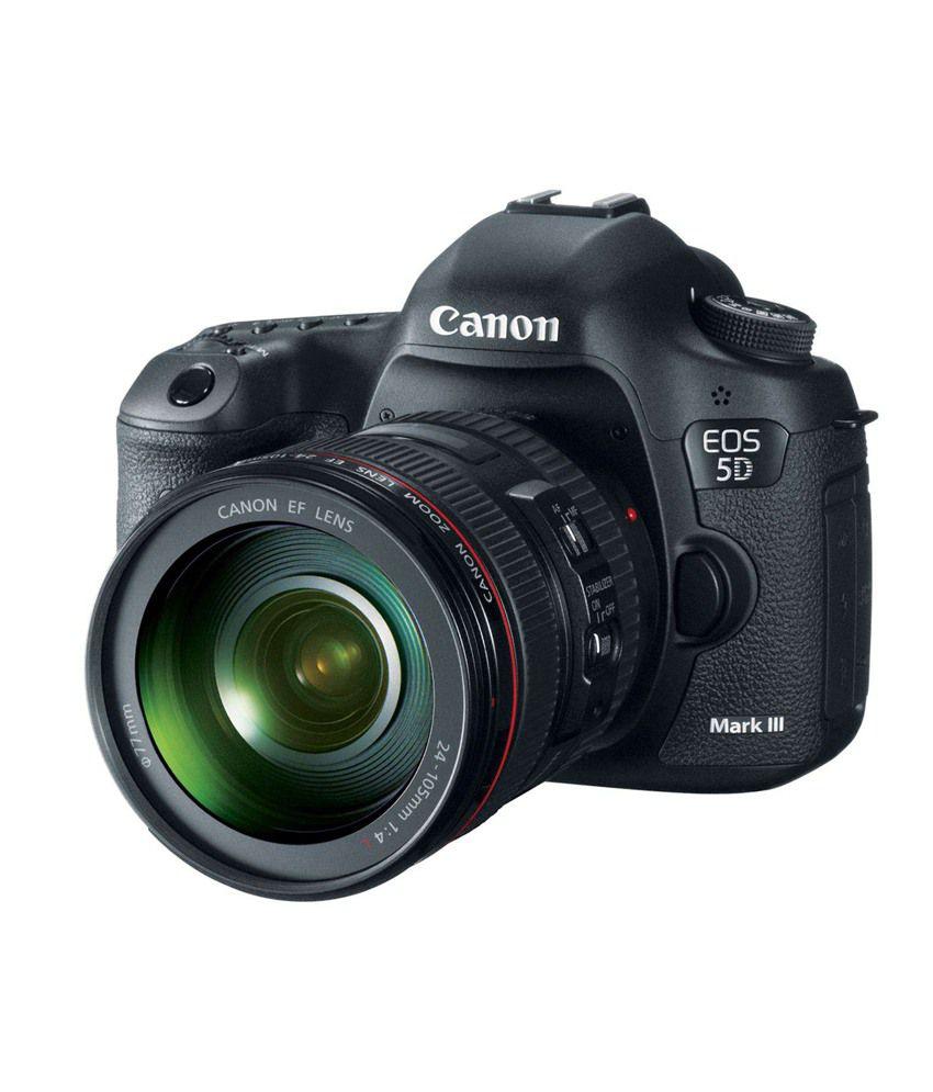 Canon EOS 5D Mark IV DSLR Camera Body withᅠEF 24-105mm IS II USM Lens(Black) EOS 5D Mark IV