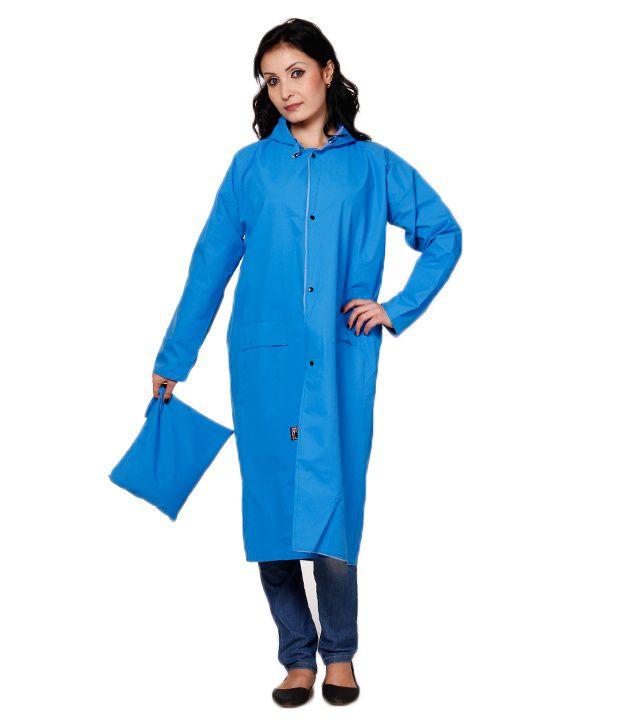 Dora Blue Raincoat For Infant Girls