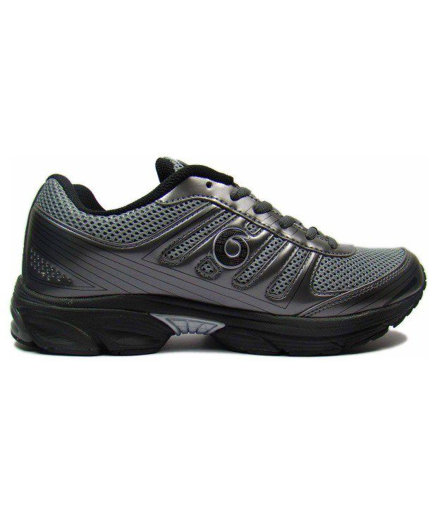 Globalite Grey Sports Shoes