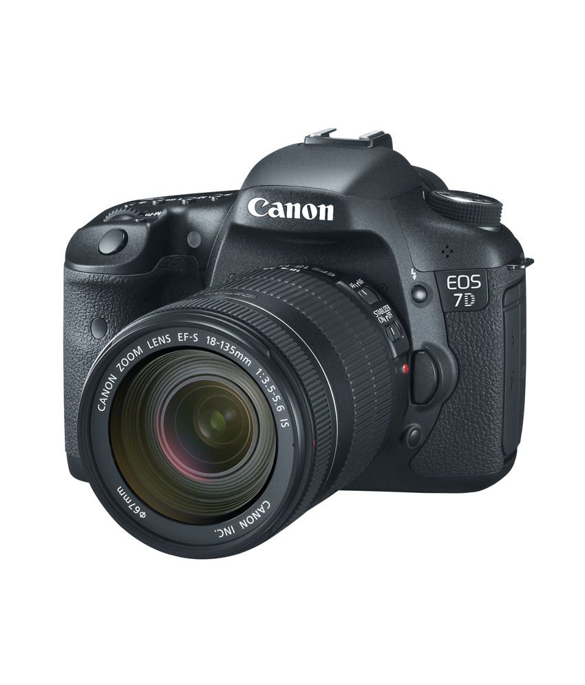 Canon EOS 7D with 18-135mm IS Lens