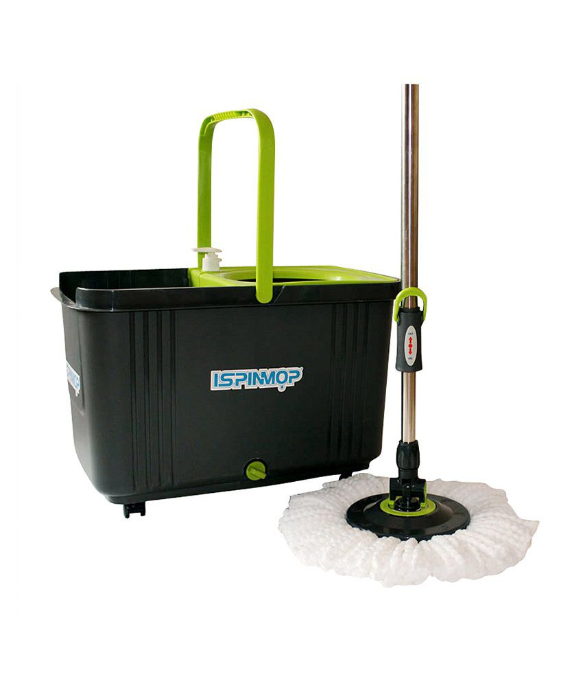 Spin Mop 360 - Stainless Steel and Trolley Model: Buy Magic Spin Mop ...