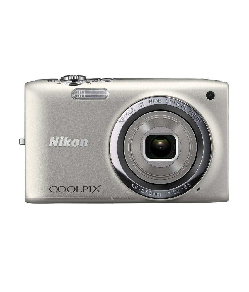 Nikon Coolpix S2700 16MP Digital Camera (Silver) Price in India- Buy ...