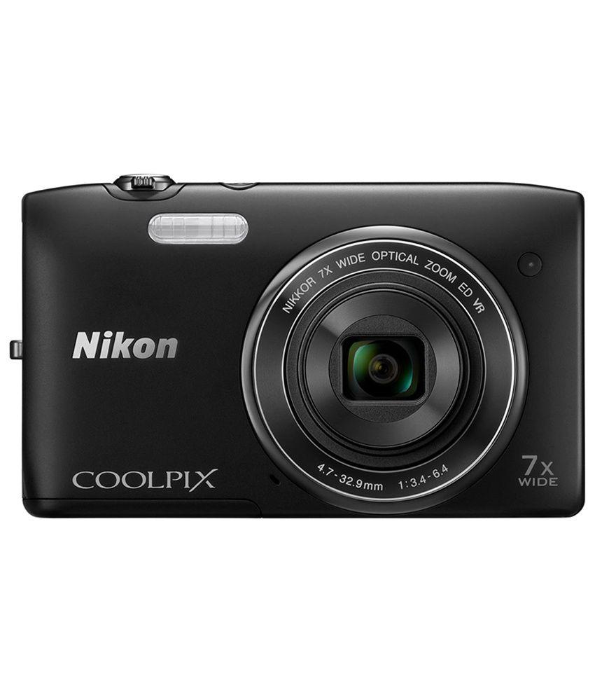 Nikon Coolpix S3500 20.1 MP Digital Camera