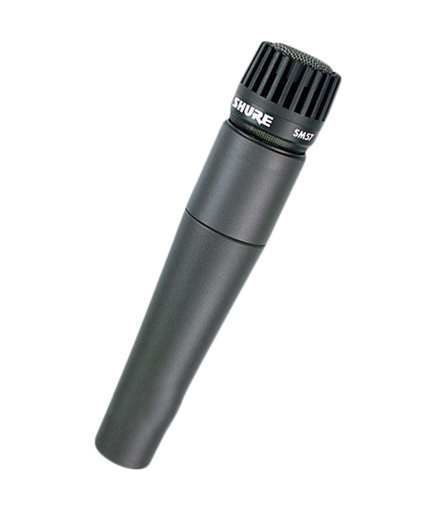 SHURE SM57-LC Dynamic Instrument Microphone (Without Cable)