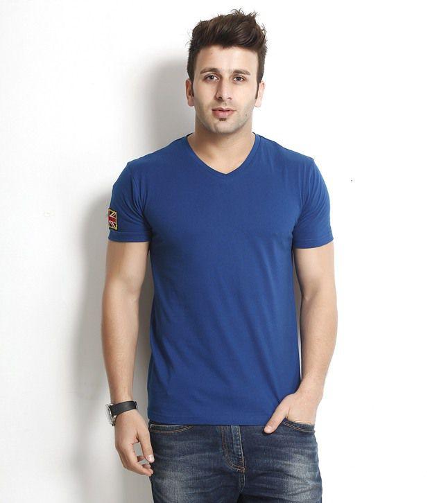 Gritstones Remarkable Royal Blue T Shirt