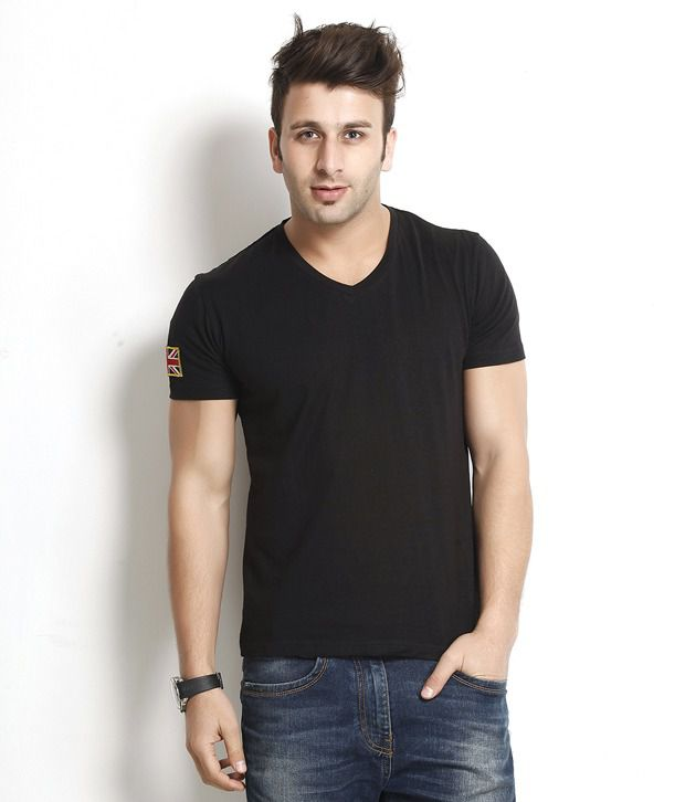 Gritstones Versatile Black T Shirt