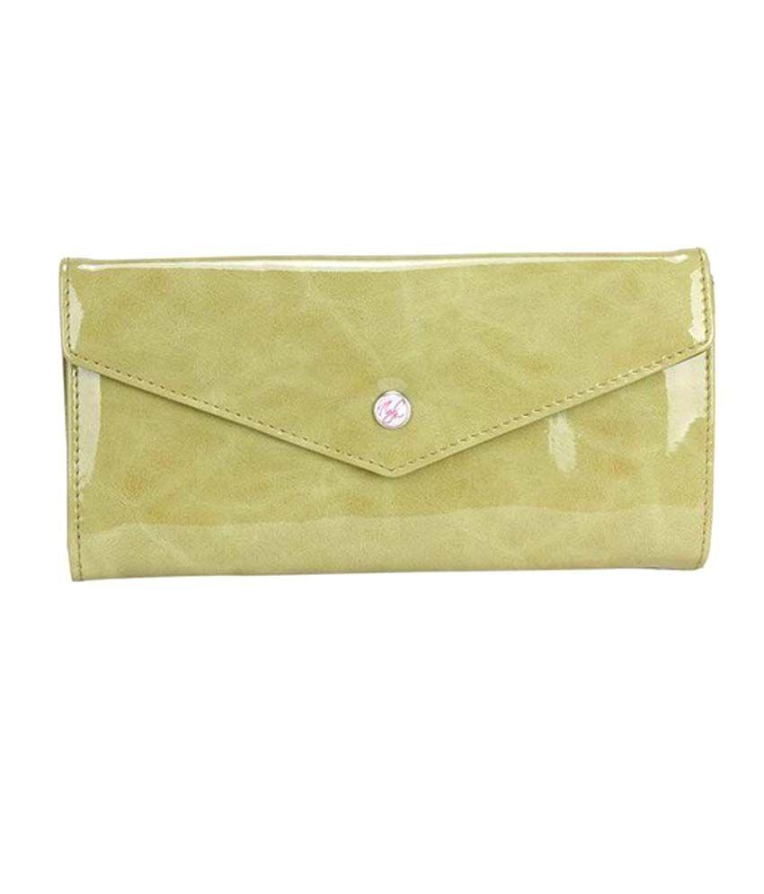 Nyk Glossy Green Wallet